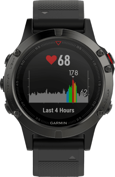 Slate Gray/Black Garmin Fēnix® 5, 235mm.1