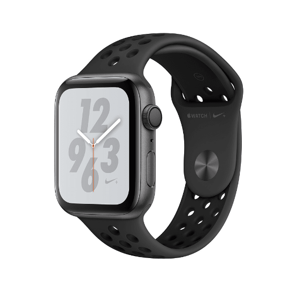 Grau Sports Apple Watch Nike+ Series 4 GPS+Cellular, 44 mm Aluminium-Gehäuse, Sportschlaufe / -band.2