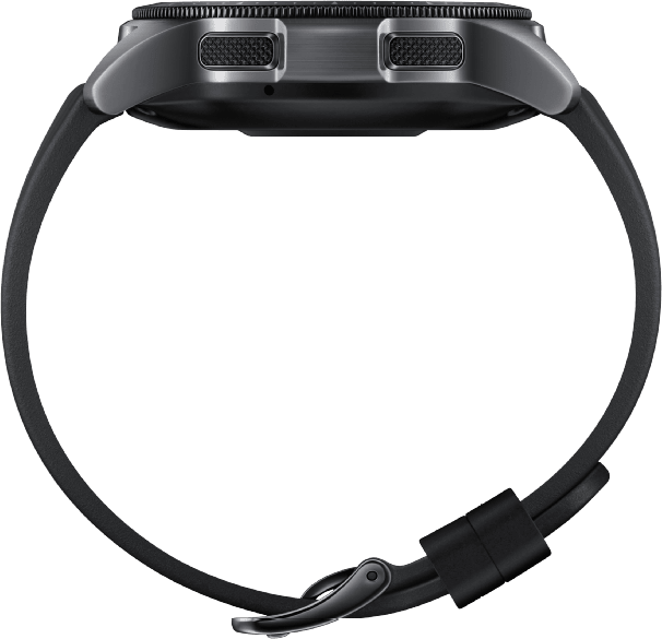 Black Samsung Galaxy Watch LTE, 42mm.3