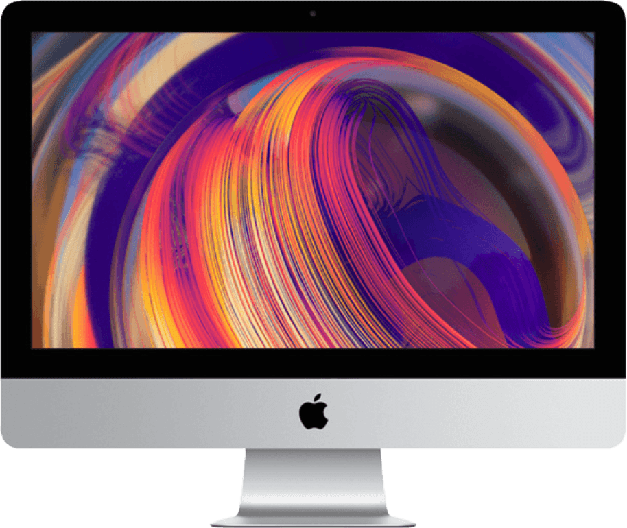 "Silber Apple iMac 21.5"" Retina 4K (Early 2019).1"