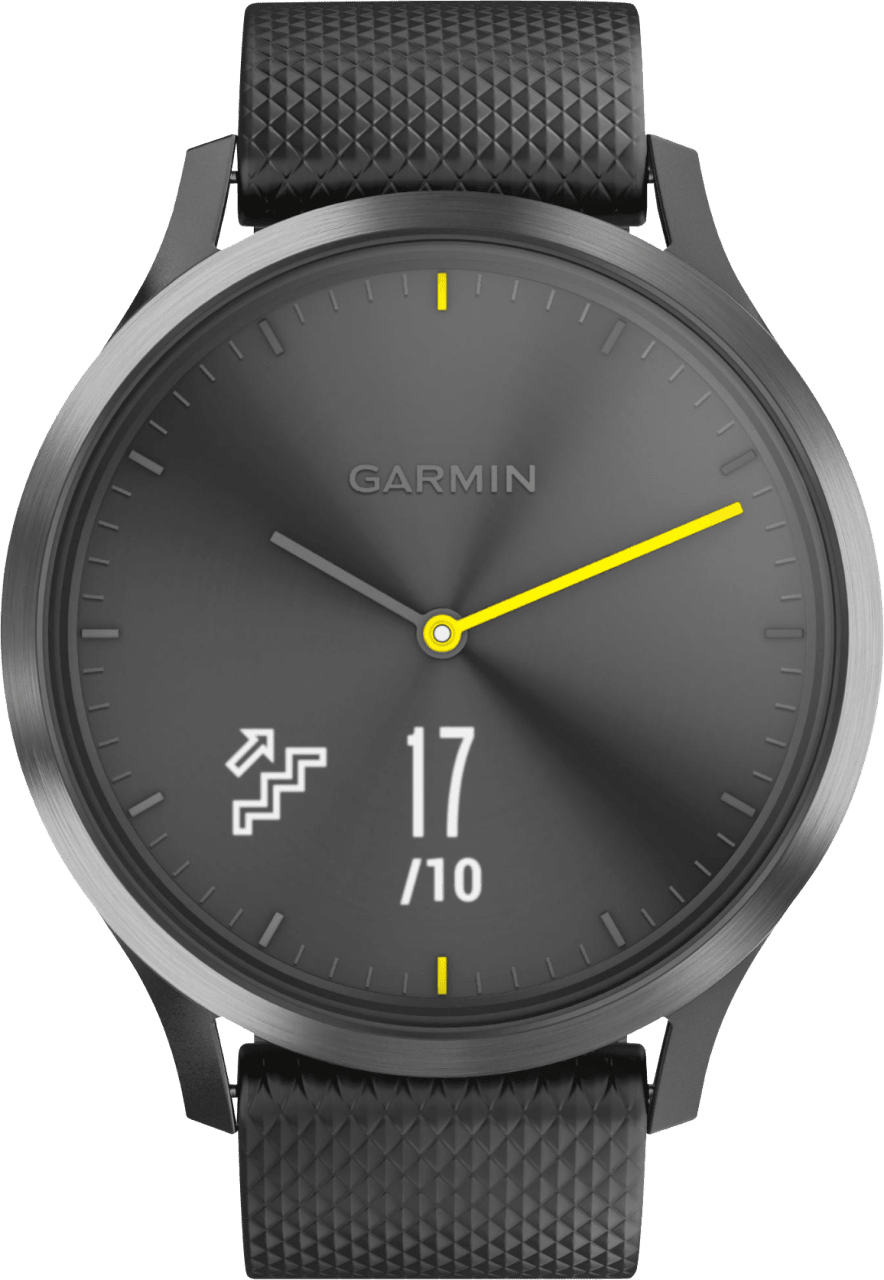 Black / Slate Garmin vívomove HR Sport, L.1