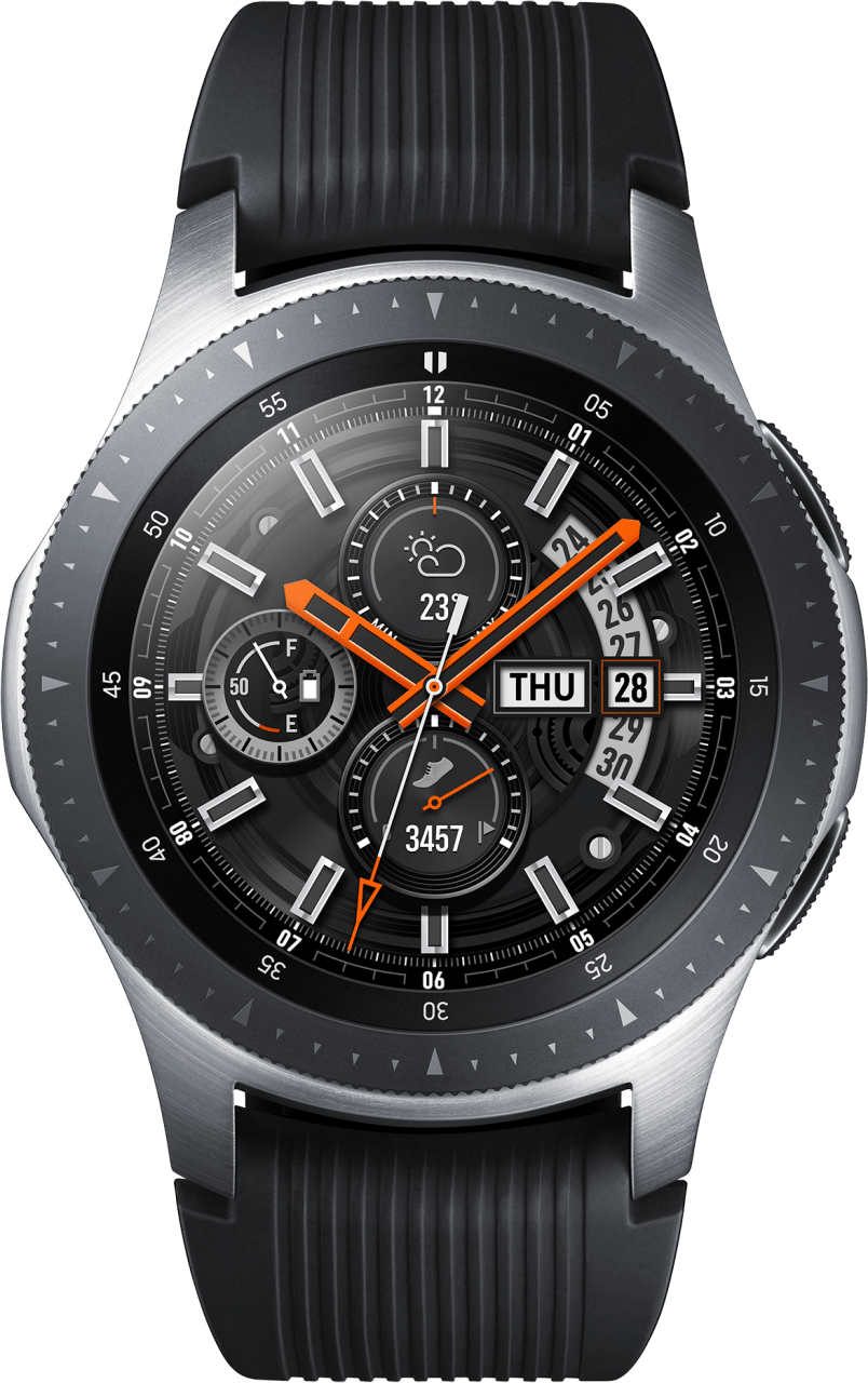 Silver Samsung Galaxy Watch, 46mm.1
