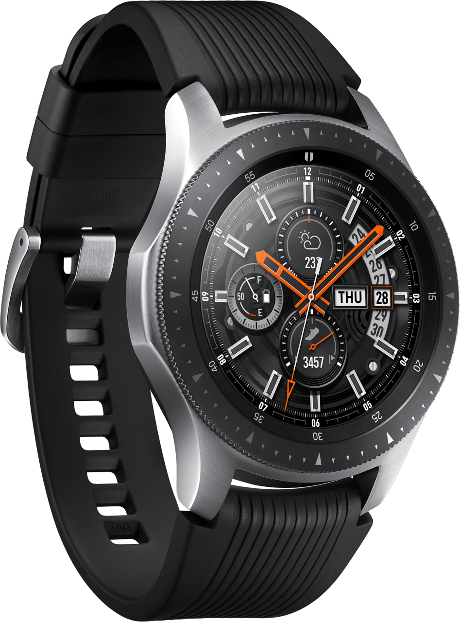 Silber Samsung Galaxy Watch LTE, 46mm.2