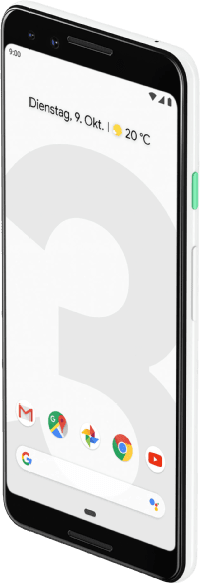Clearly White Google Pixel 3 64GB.2