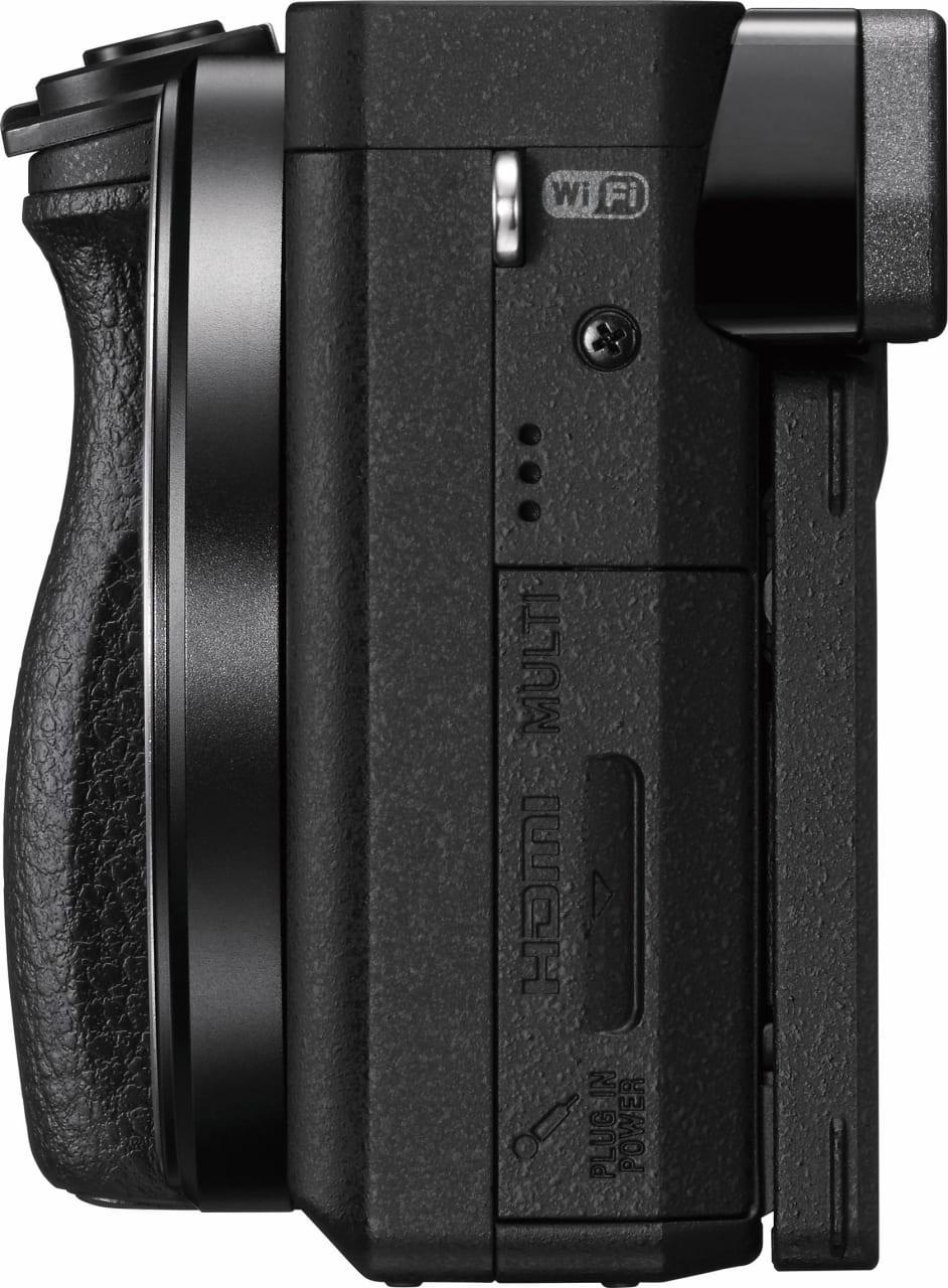 Black Sony Alpha 6400 kit 16-50 mm.5