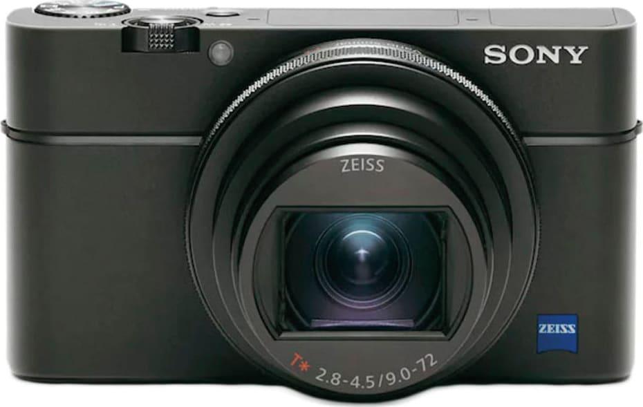 Black Sony DSC-RX100 VI.1