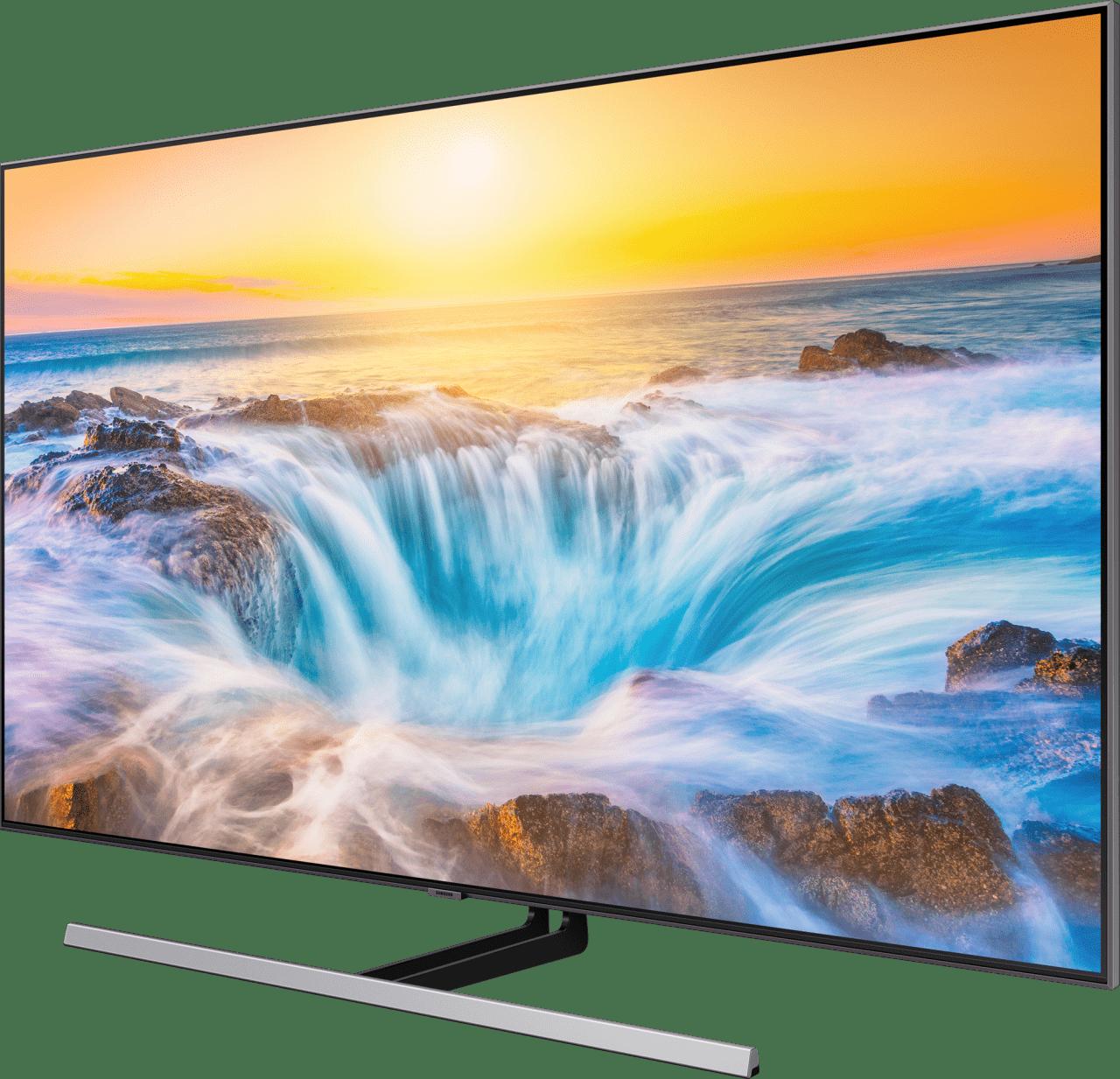 "Silber Samsung TV 55"" Q85R.3"