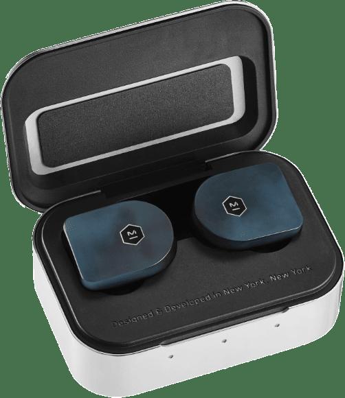 Steel Blue Master & Dynamic MWO7 In-ear True wireless headphones.2