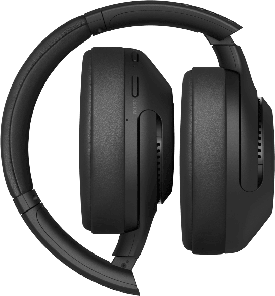 Schwarz Sony XB900N Over-Ear-Kopfhörer.4