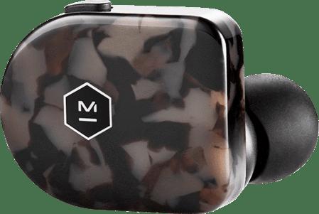 Gray Terrazzo Master & Dynamics MW07 In-ear Bluetooth Headphones.3