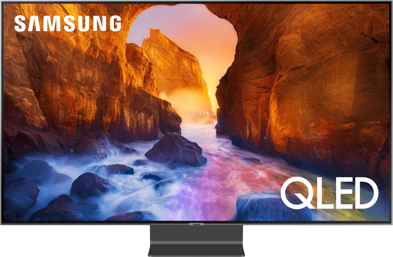"""Schwarz Samsung TV 65"""" Q90R.1"""