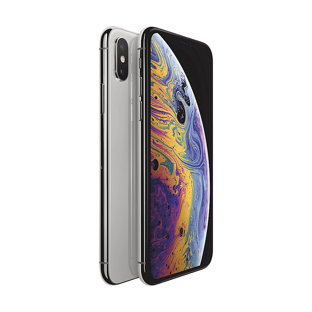 Silver Apple iPhone Xs 64GB.1