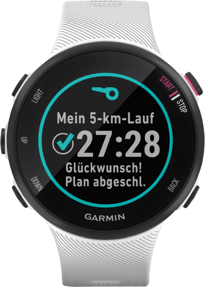 White Garmin Forerunner 45S GPS Sports watch.3