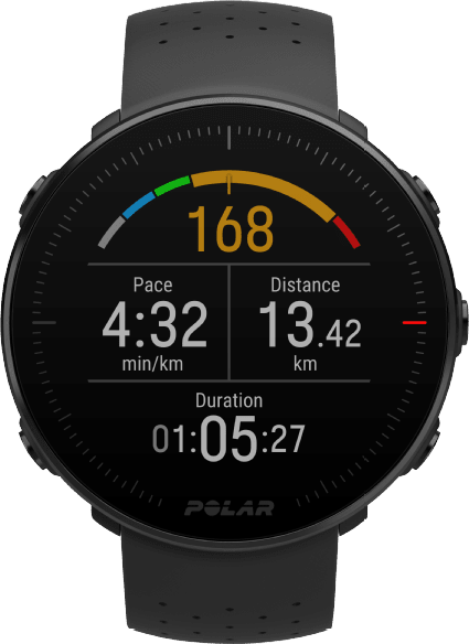 Black Polar Vantage M GPS Sports watch, M/L.3
