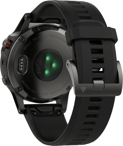 Slate Gray/Black Garmin Fēnix® 5, 235mm.3