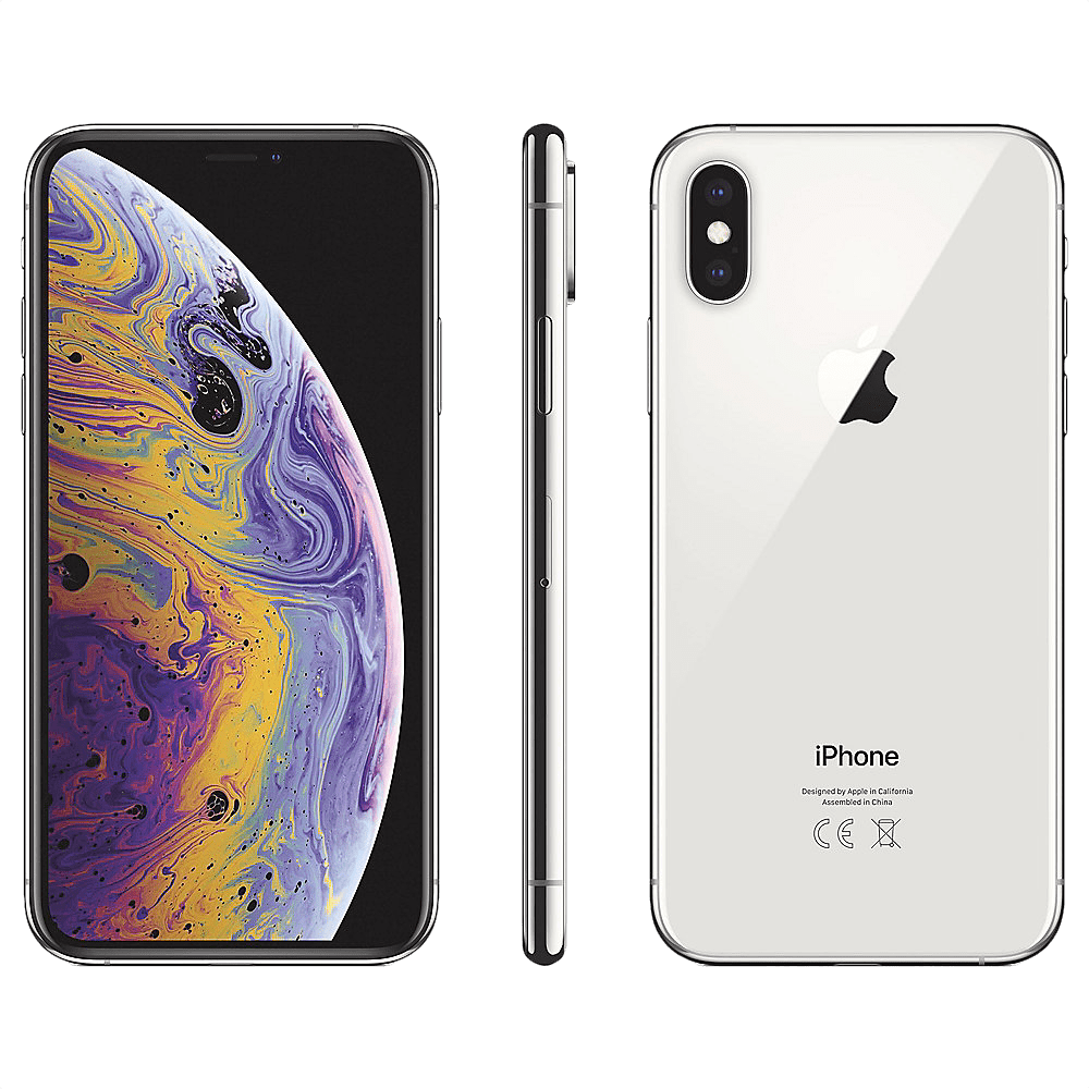Silver Apple iPhone Xs 256GB.2