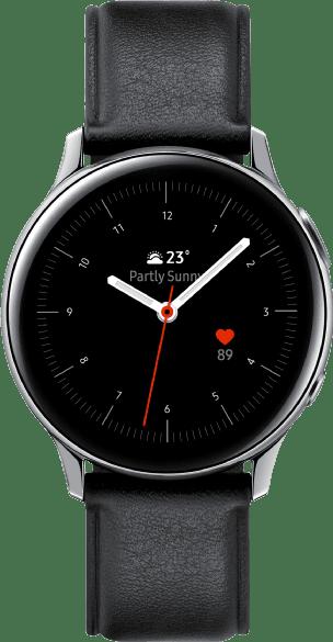 Silber Samsung Galaxy Watch Active2, 40mm.1