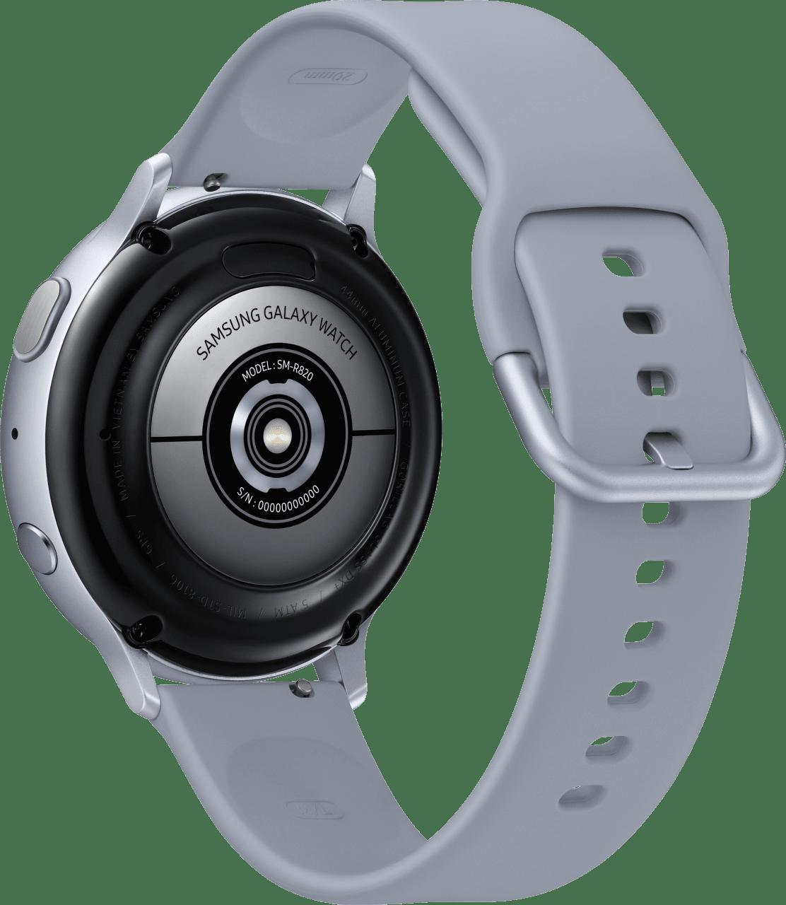 Cloud Silver Samsung Galaxy Watch Active2, 44mm Aluminium case, Sport band.3