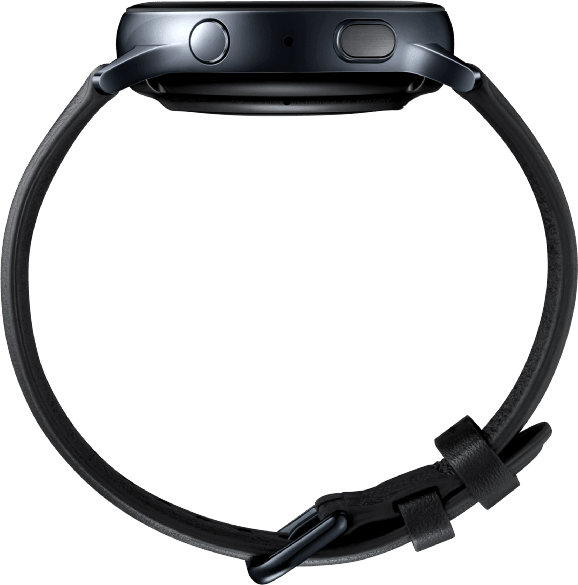 Black Samsung Galaxy Watch Active2, 40mm.4