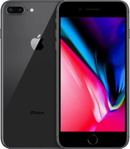 Space Gray Apple iPhone 8 Plus 128GB.1