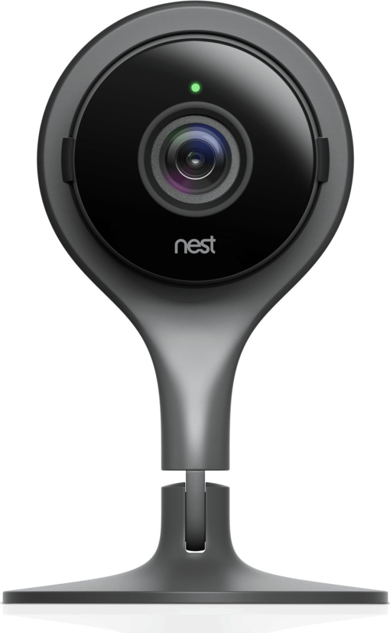Schwarz Google Nest Indoor-IP-Kamera.1