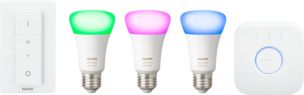 Weiss Philips Hue White & Color Ambiance 4. Starterkit.1