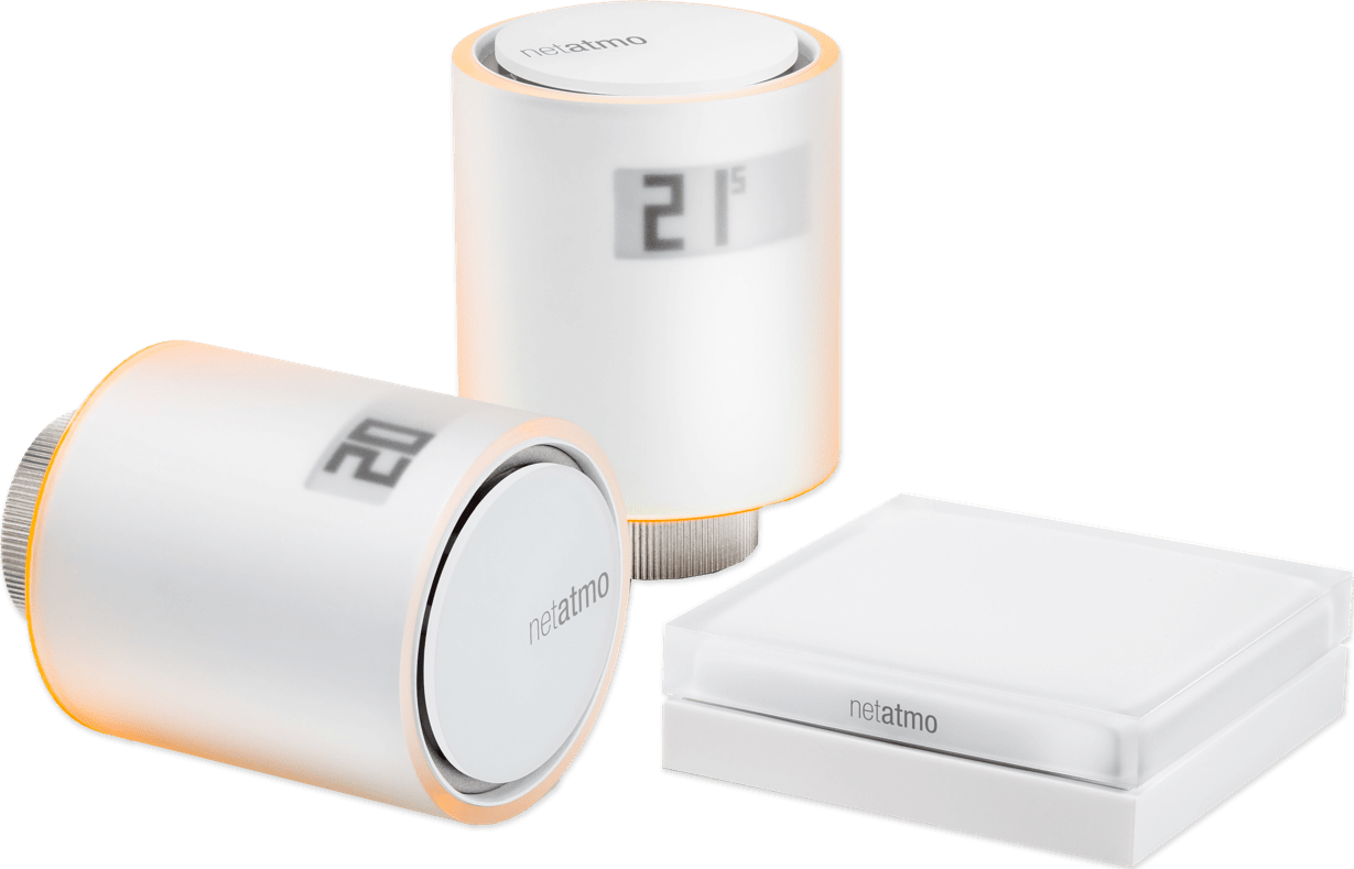 White Netatmo NVP01-EN Starter Kit.2