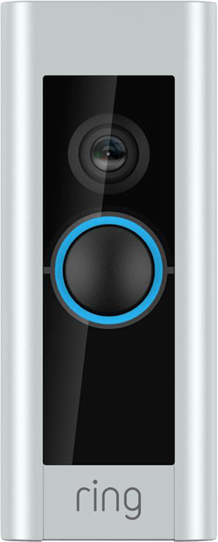 Satin Nickel Ring Video Doorbell Pro.1