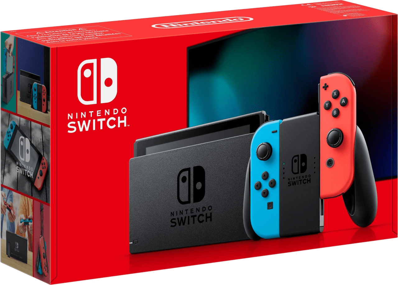 Neon Red / Neon Blue Nintendo Switch (2019 Edition).2