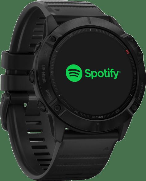 Black Garmin Fenix 6x Pro GPS Sports watch.4