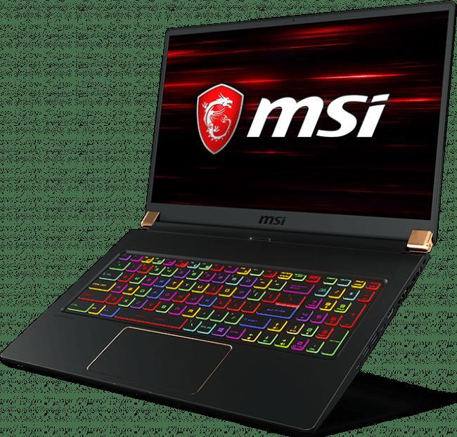 Schwarz MSI Stealth GS75 9SE-278.2