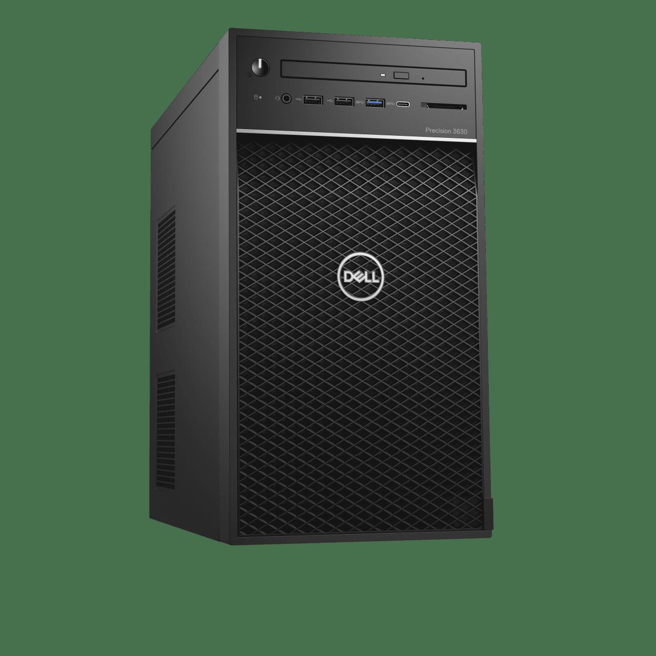 Schwarz Dell Precision 3630.1
