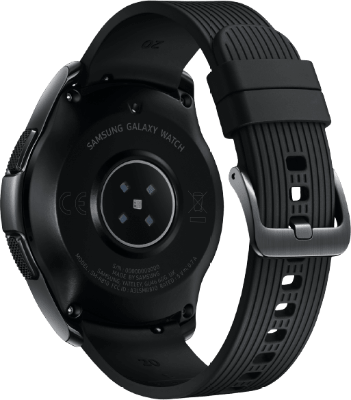 Schwarz Samsung Galaxy Watch, 42mm.4