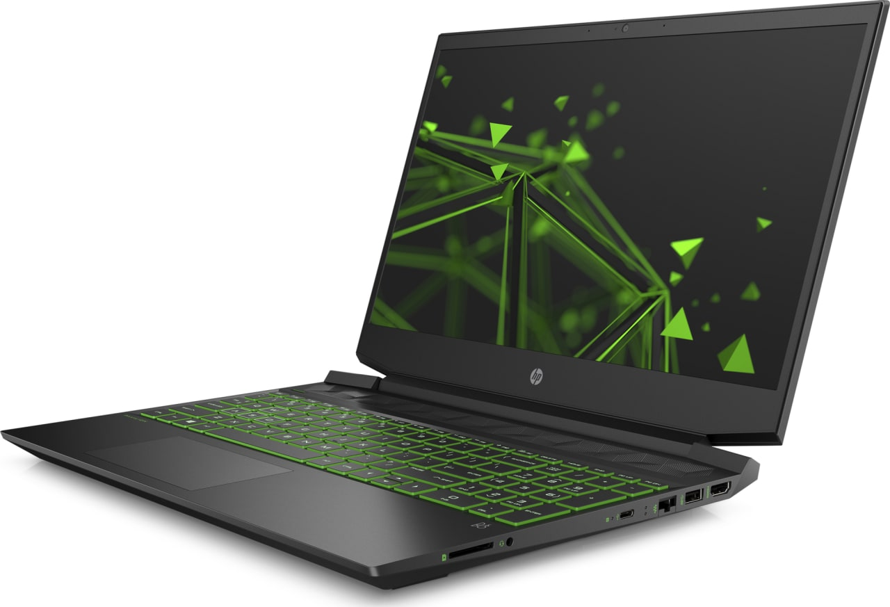 Shadow Black / Acid Green HP Pavilion Gaming 15-ec0020ng.2