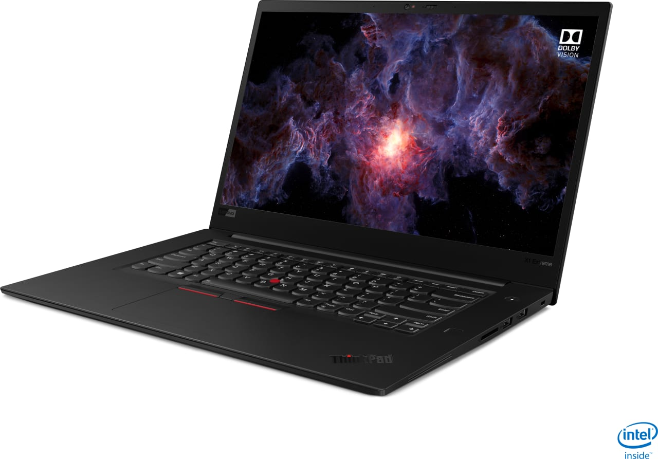 Black Lenovo ThinkPad X1 Extreme G2.2