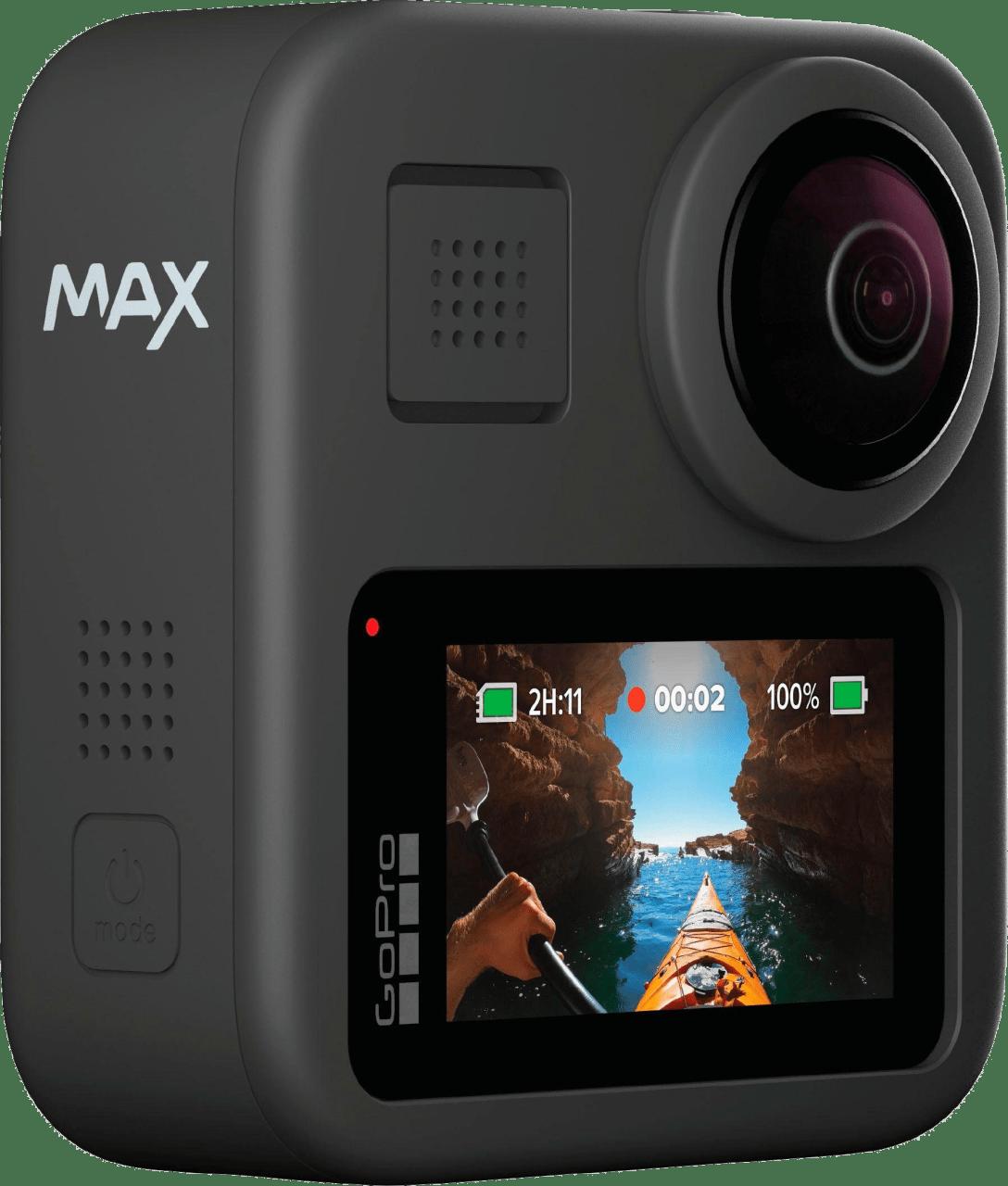 Schwarz GoPro MAX.1