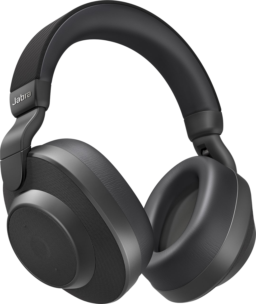 Black Jabra Elite 85h Over-ear Bluetooth Headphones.1
