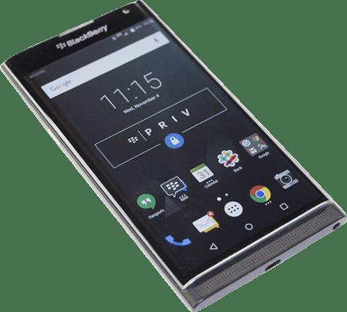 Black Blackberry Priv.1