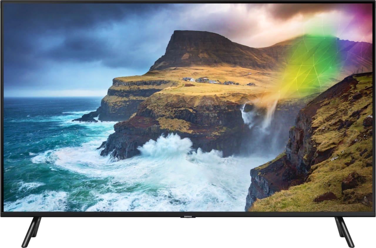 """Schwarz Samsung TV 49"""" Q70R.2"""