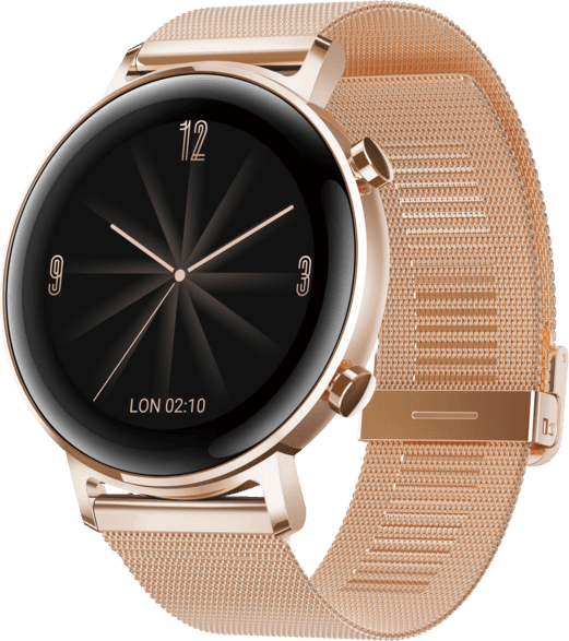 Rose Gold Huawei Watch GT2 Elegant, 42mm.1