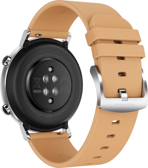 Beige Huawei Watch GT2 Classic, 42mm.4