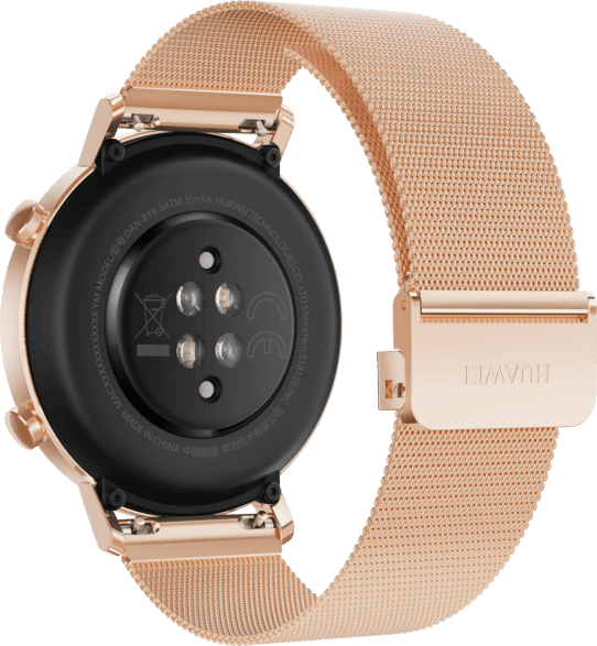 Rose Gold Huawei Watch GT2 Elegant, 42mm.4