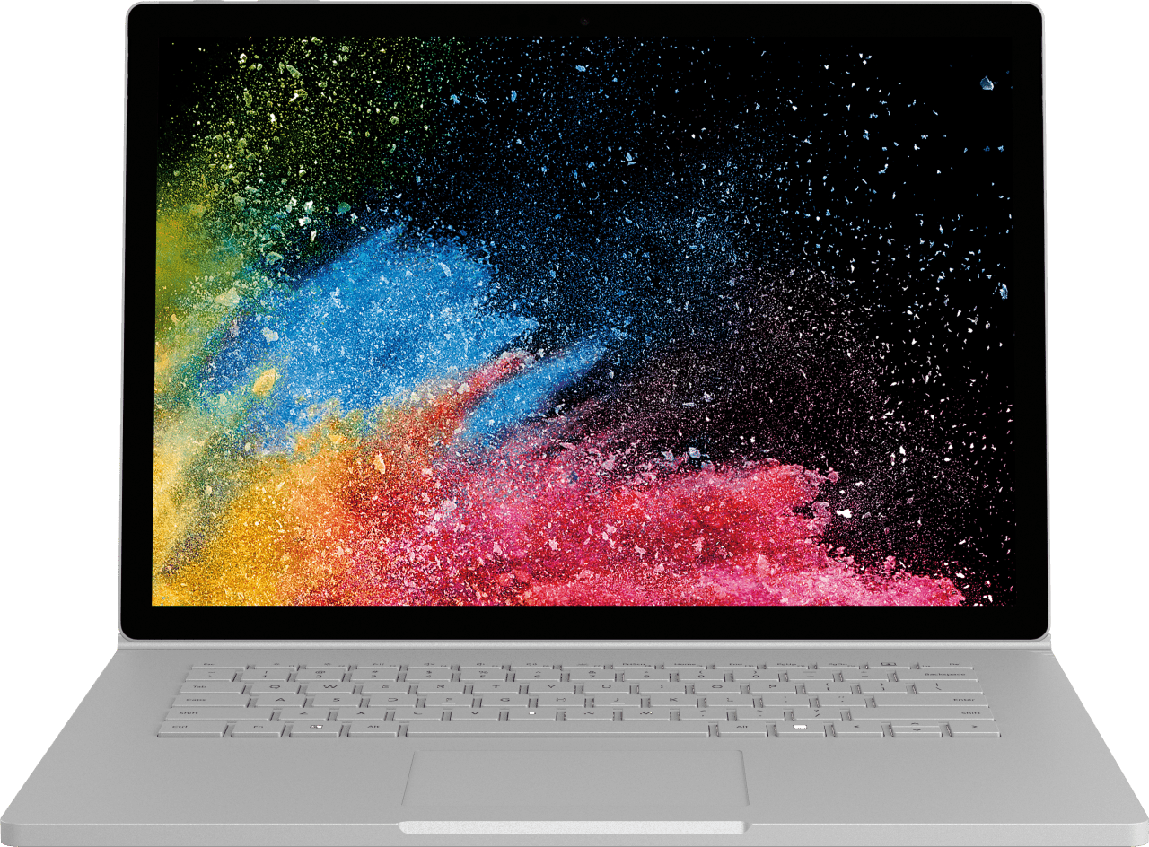 "Silber Microsoft Surface Book 2 15"".2"