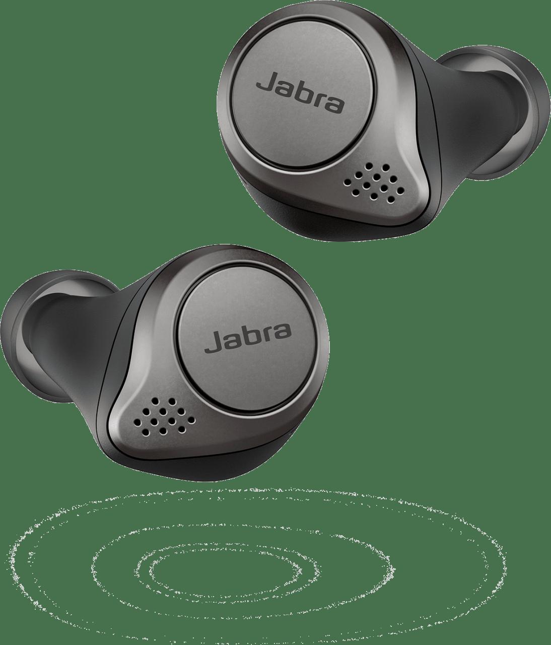 Schwarz Jabra Elite75t.3