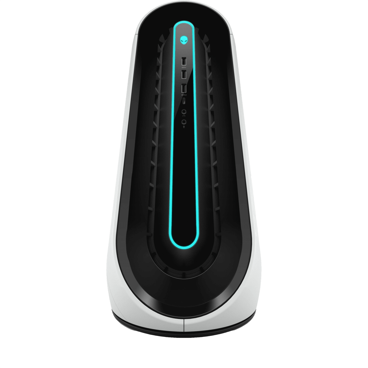 White / Silver Alienware Aurora R9.1
