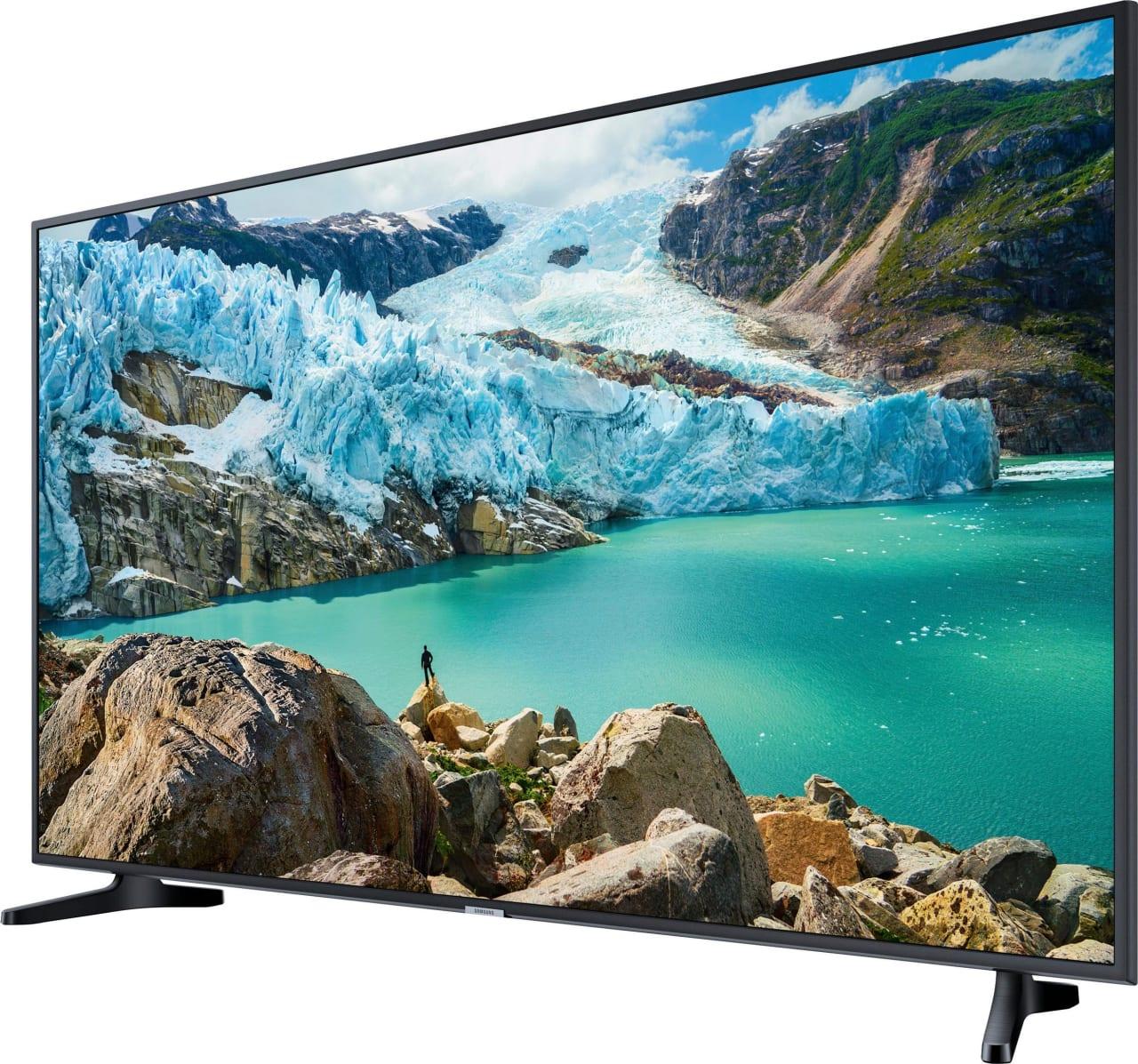 "Black Samsung TV 55"" RU7099.2"