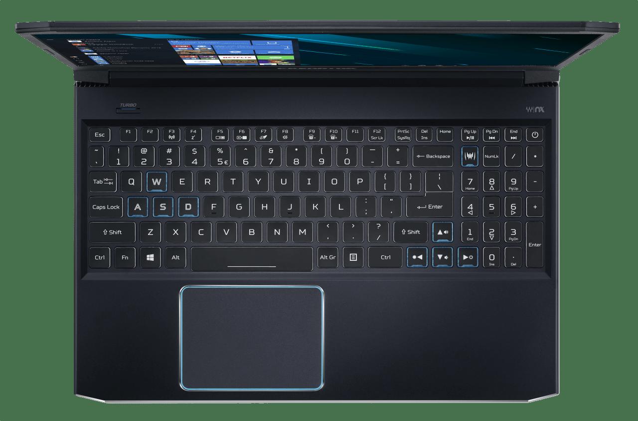 Black / Blue Acer Predator Helios 300.4