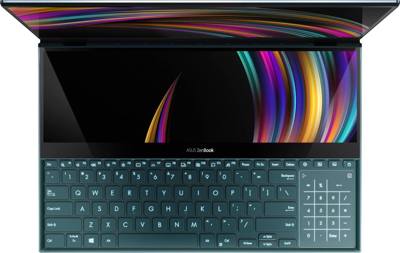 Celestial Blue Asus ZenBook Pro Duo UX581GV-H2002R.4