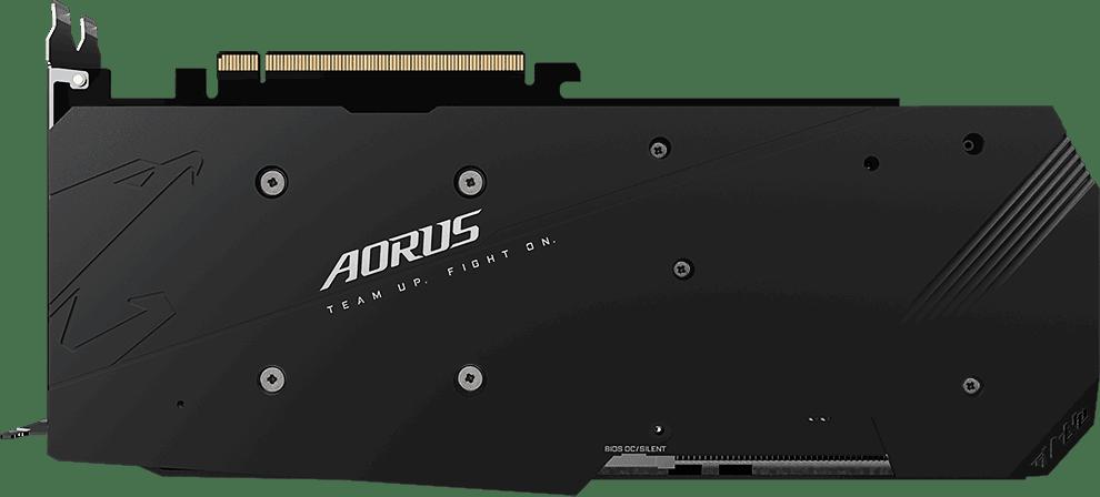 Schwarz Gigabyte AORUS Radeon RX 5700 XT 8G.2