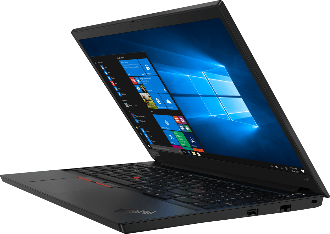 Schwarz Lenovo ThinkPad E15.2